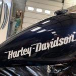mg automobile harley davidson moto peinture carrosserie