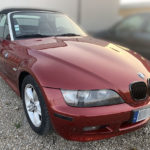 mg automobile bmw z3 peinture carrosserie