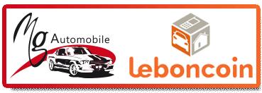 Bouton leboncoin MG Automobile